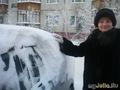 Зимняя забава - отчисти машину от снега