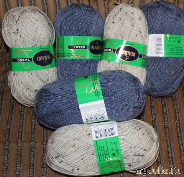 Вязание носков пряжа 97