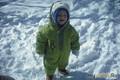 Матвей Романович- снежный космонавт