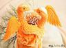 Прилетают жары-птицы Из ручья воды испить;