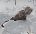 Зима в Простоквашино или Выходные в деревне.