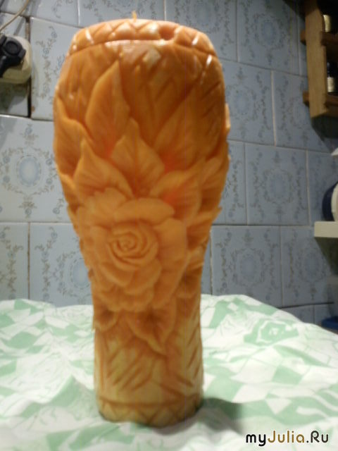 Моя первая ваза (другой ракурс)
