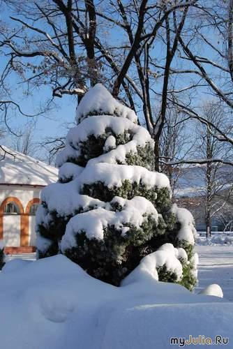 Снежные гирлянды
