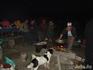 Ужин тургруппы на территории охранной зоны заповедника. Завтра поедем на остров.