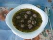 Суп с чечевицей и  мясными фрикадельками