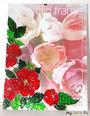 """Рамка """"Цветы"""" размер 15*20 цена 400 руб"""