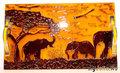 """Поднос """"Мечта об Африке"""" размер 30*18 см Цена  1600 руб"""