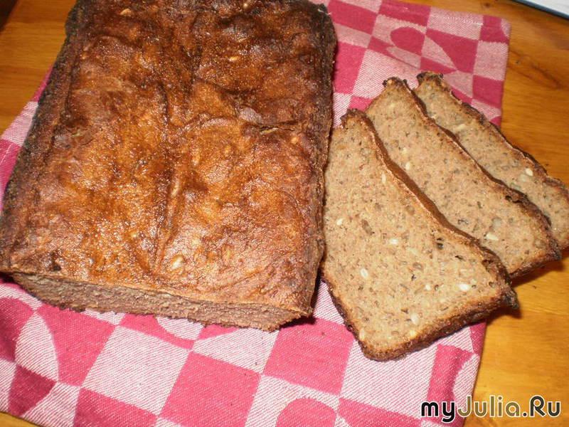 Ржаной бездрожжевой хлеб рецепты