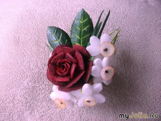 Роза и нарцисс