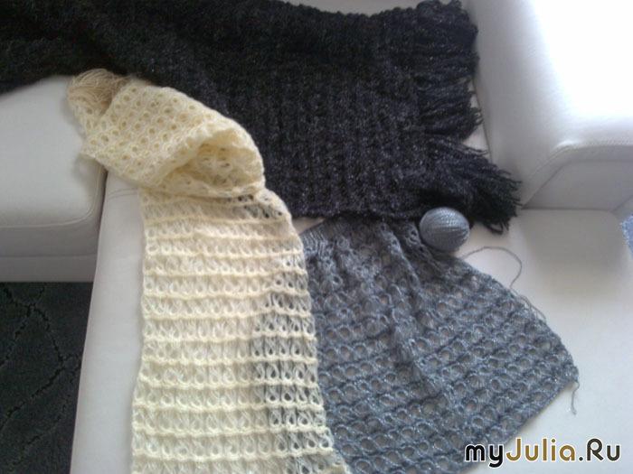 шарфы и шали техника брумстик вязание крючком на вилке дневник