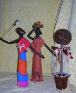 Статуэтки негритянки