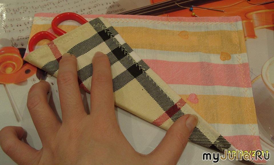 Как и из чего самому сделать чехол для ножниц9