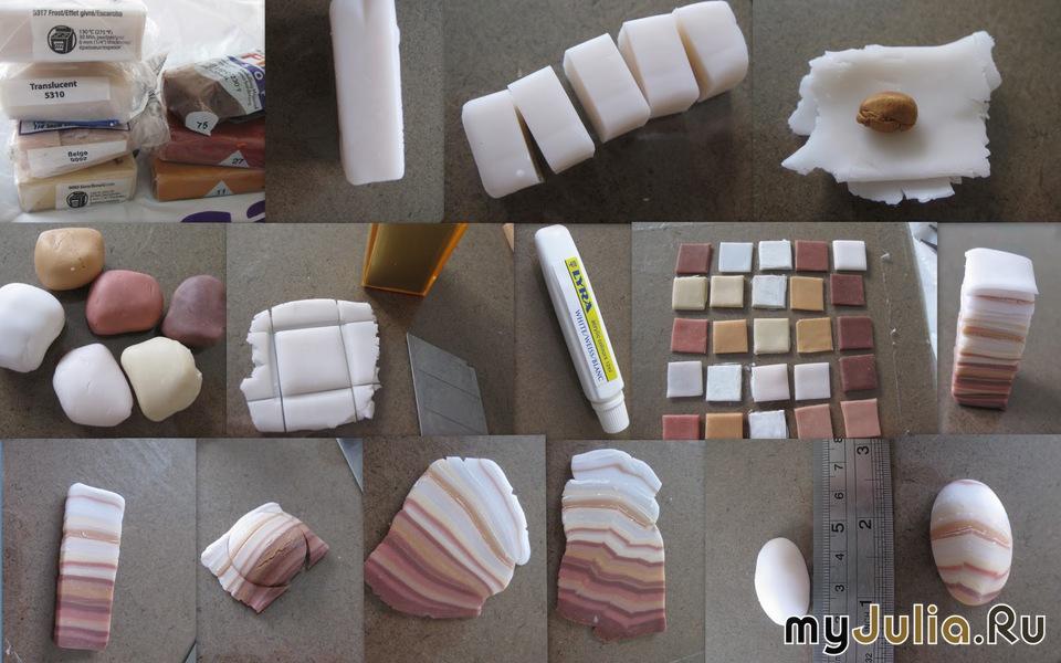 Имитация янтаря из полимерной глины мастер класс видео