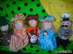 А вот мои первые куколки,с чего,собственно,всё и началось...