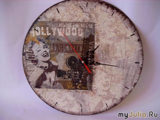 """Часы """"Старое кино"""""""