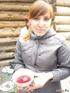 В горах, на границе с Грузией, мирно потягиваю супчик из пиалы