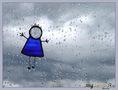 Льёт печаль хрустальную первый вешний дождь...