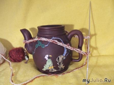 Заварка чая для кур