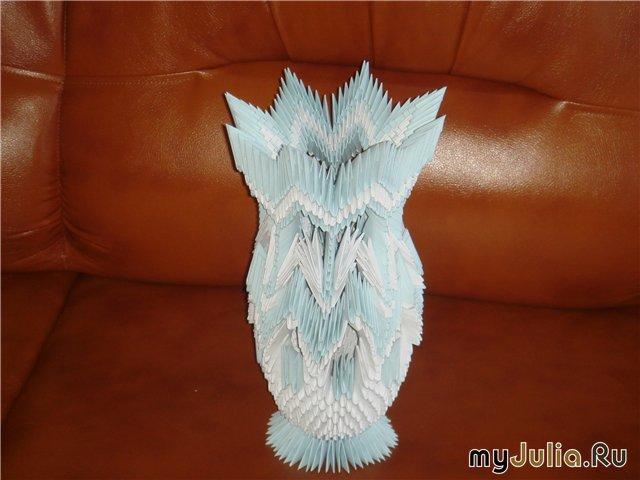 Фото вазы модульное оригами