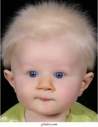 Дети рождаются с волосами