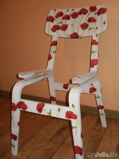 Поделки из старого стула