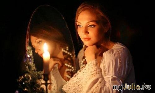 Картинки девушка в свечей