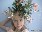 И правда, почему на голове не растут цветочки?