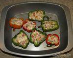 Фаршированный  перец (овощи и хлеб)