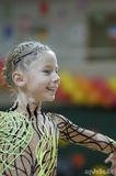 Прическа спортивная - гимнастическая
