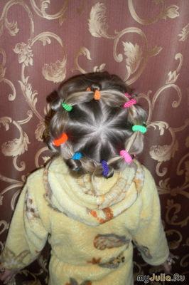 а на моей голове цветочки как раз растут
