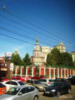 На твоих церквах старинных Вырастают дерева; Глаз не схватит улиц длинных... Это матушка Москва!
