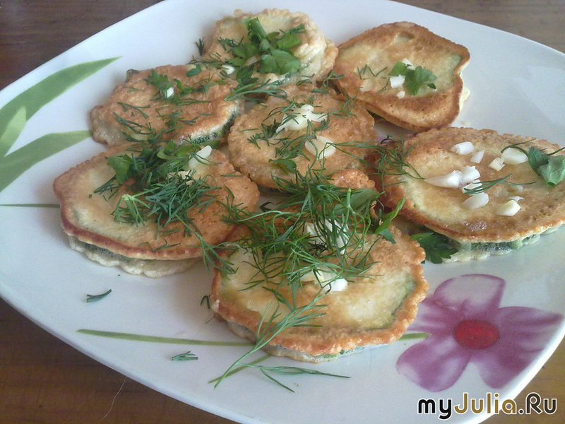 Кабачки в кляре рецепты с фото в духовке