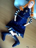 МК по шитью куклы-примитивочки (репост)