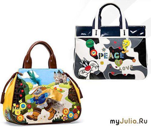 Дизайнерские сумки BRACCIALINI.  Идеи для рукоделия.