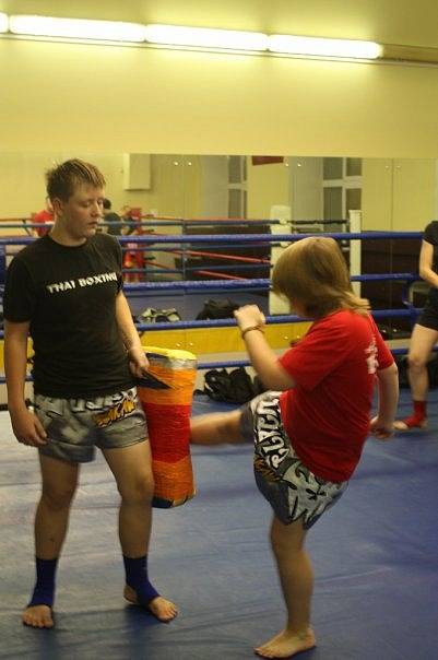 Тайский бокс для детей (495) 744 58 41