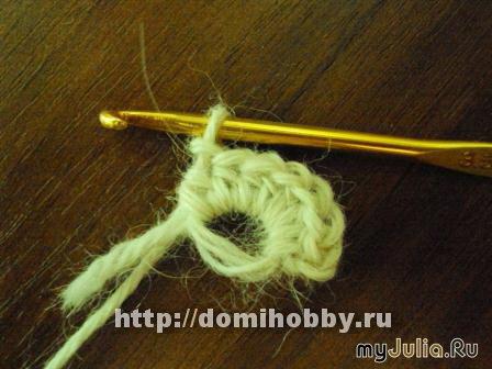 Для вязания рисунка, вводим
