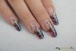Мастер-класс по дизайну ногтей от мастеров салонов красоты Red Lodge «Радужная баттерфляй»