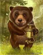 Чай с мёдом.