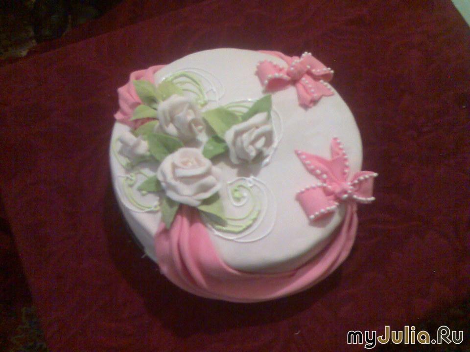 украшение торта мастикой картинки