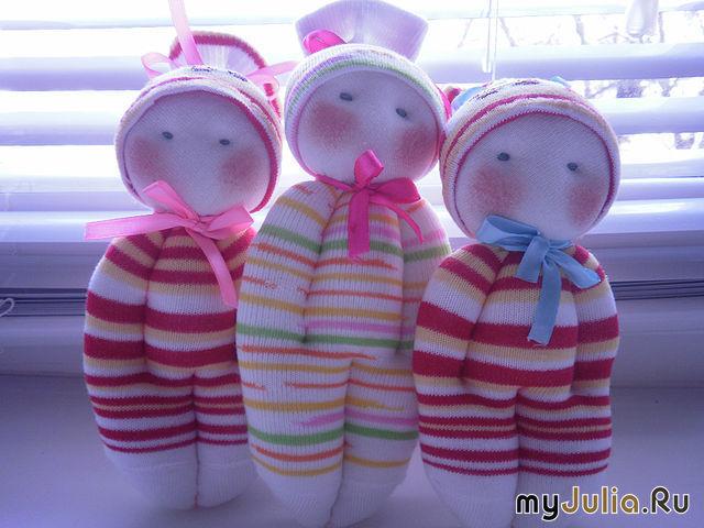 Куколка своими руками из носка 62
