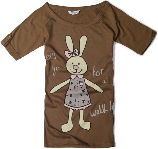 Обожаю веселые футболки Pull and bear