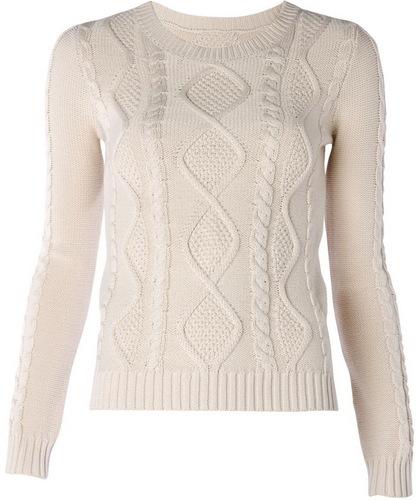 Свитер Мango, хочу белый вязаный свитер может этот?