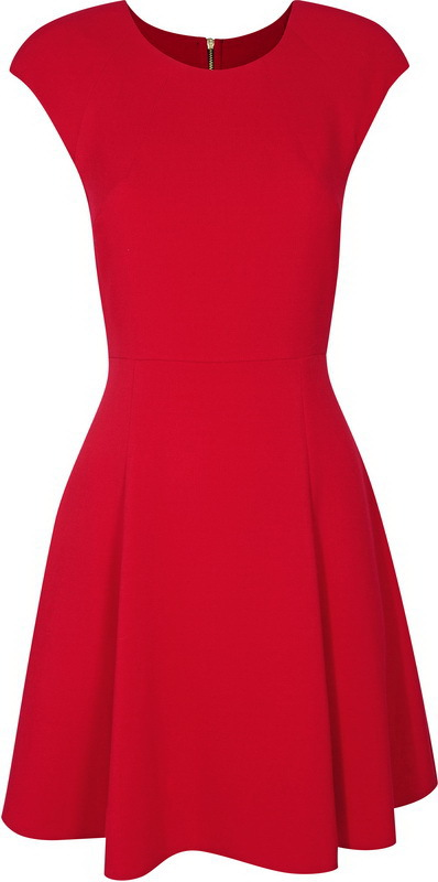 Еще один вариант красного платья(Miss Selfridge)