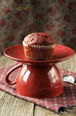 Свекольно - шоколадные кексы