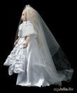 Принцесса-невеста. Текстильная кукла