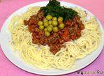 """Спагетти с соусом """"Болоньезе"""" по осеннему"""