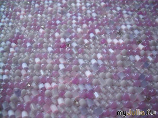 Розовая смесь