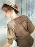 Кофточка с воротником-кокеткой (спицы, крючок)_Keito Dama №39 Spring