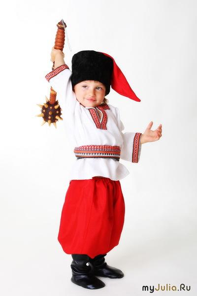 Украинский костюм своими руками для мальчика