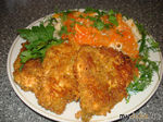 Курица миланезе в соусе(Итальянская кухня)